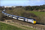 2013 02 02 HST Burnigill ECML.service train.