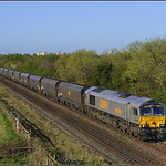 06.15 Doncaster-Tyne Coal Terminal empties at Greatham.
