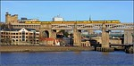 2015 01 24. N.M.T. on the 08.32 Derby-Heaton test train on the High Level Bridge.