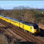 2015 02 21 NET Hst on the Derby-Heaton test train at Billingham.